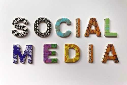social media for website