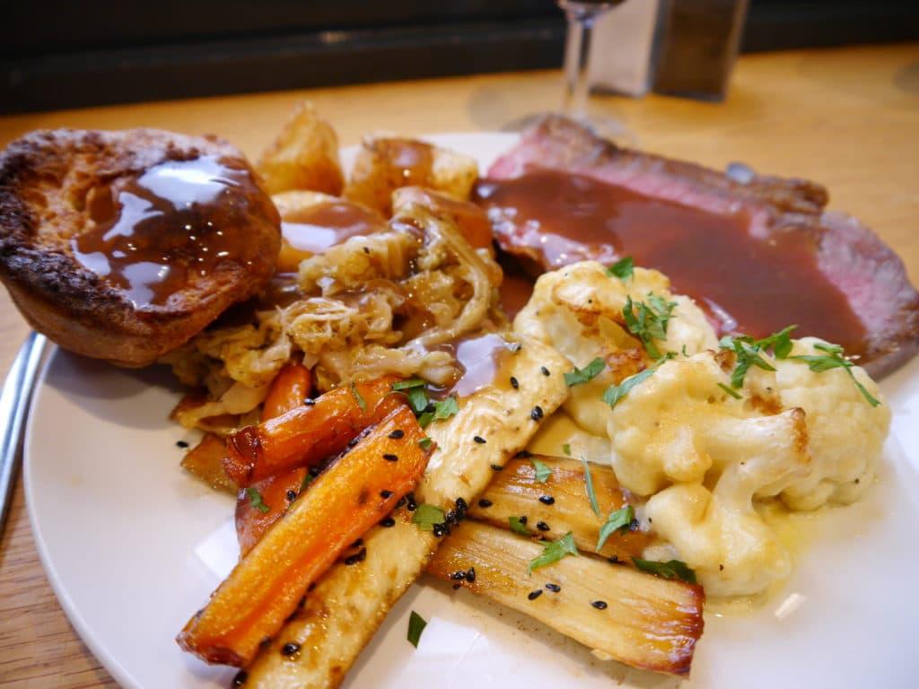 Roast dinner image